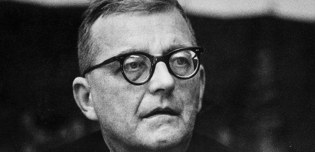 Composer Dmitri Shostakovich