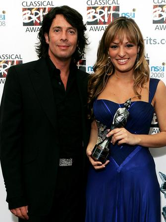 Laurence Llewelyn Bowen and Nicola Benedetti