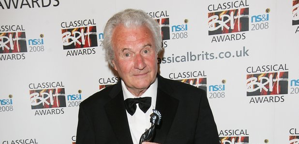 Sir Colin Davis at the Classical Brits 2008