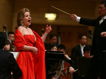 Renee Fleming in China