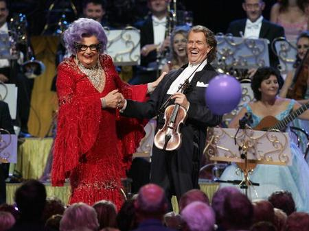 Dame Edna Everage and Andre Rieu