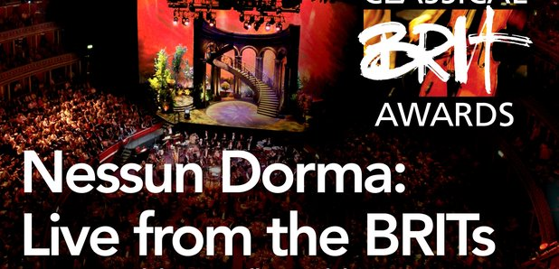 Nessun Dorma Live from the BRITs