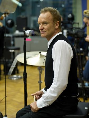 Sting. Photo by Clive Barda