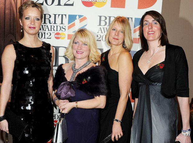 The Military Wives Choir attends The BRIT Awards 2