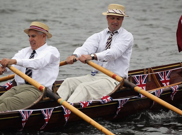 Sunday: Thames River Pageant