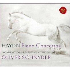 Oliver Schnyder – Haydn Piano Concertos