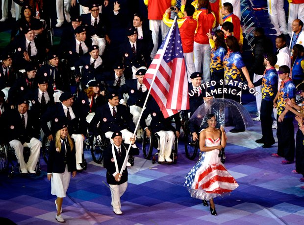 The 2012 Paralympics Opening Ceremony, Team US