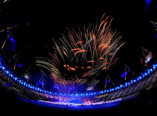 The 2012 Paralympics Opening Ceremony, fireworks