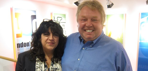 E.L James and Nick Ferrari