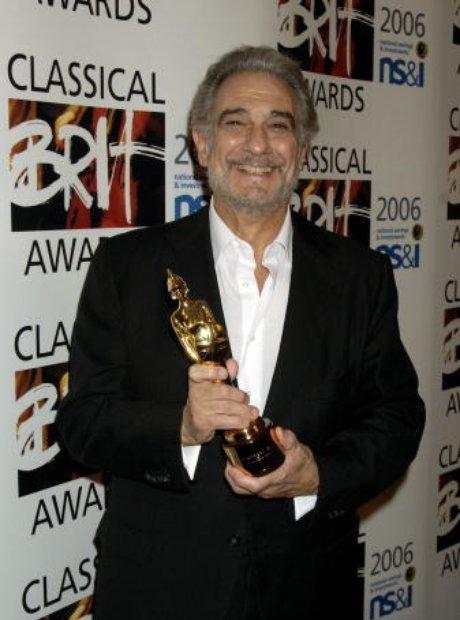 Placido Domingo classic brits 2006