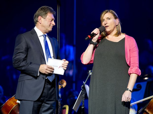 Alan Titchmarsh at Classic FM Live 2012