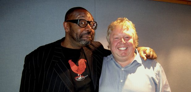 Comedian Lenny Henry and Nick Ferrari