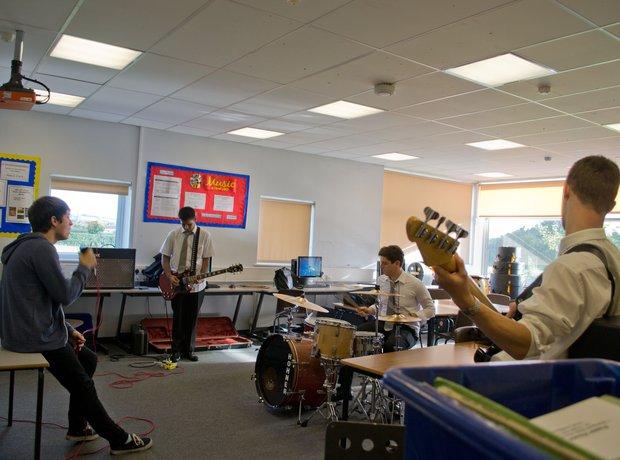 Double Helix band practice