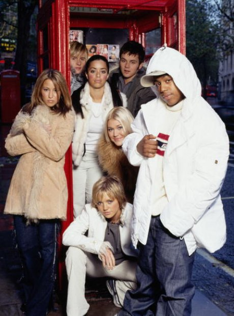 s club 7 in a phonebox