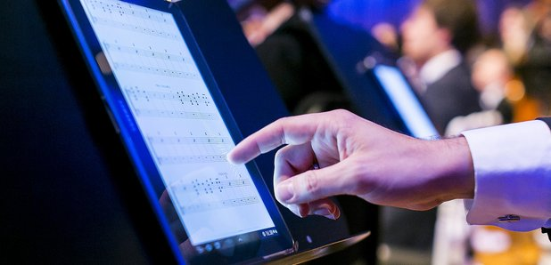 Brussels Philharmonic use tablets in rehearsals