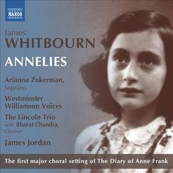 James Whitbourn Annelies cover