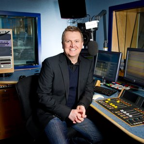Aled Jones at Classic FM Studio