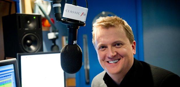 Aled Jones at Classic FM Studio