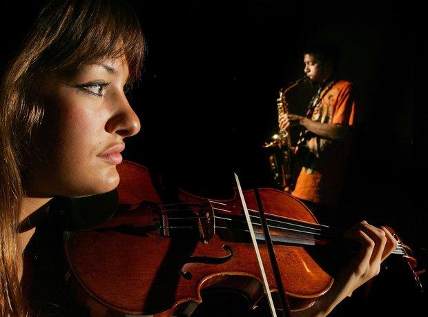 nicola benedetti and her violin