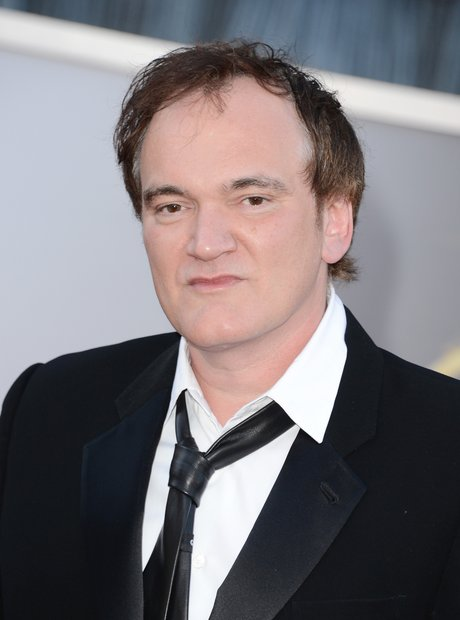 Quentin Tarantino attends the Oscars 2013 Red Carp