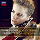Julia Fischer Bruch Dvorak album cover