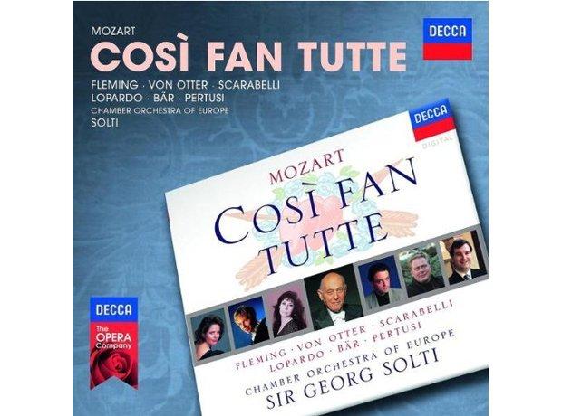 Mozart Così fan tutte by Sir Georg Solti