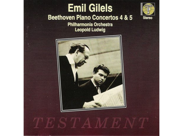 168 Beethoven, Piano Concerto No. 4, by Emil Gilel