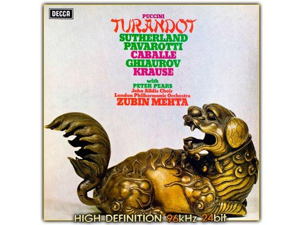 233 Puccini, Turandot, by Puccini Joan Sutherland,