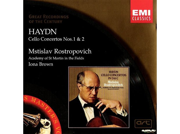 267 Haydn, Cello Concerto No. 1, by Mstislav Rostr