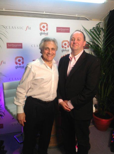 John Suchet Classic FM Live 2013 behind the scenes