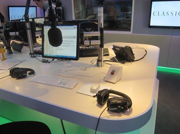 new classic fm studio