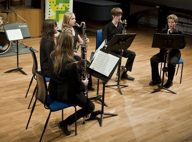 Berkshire Maestros Newbury MC Clarinet Choir