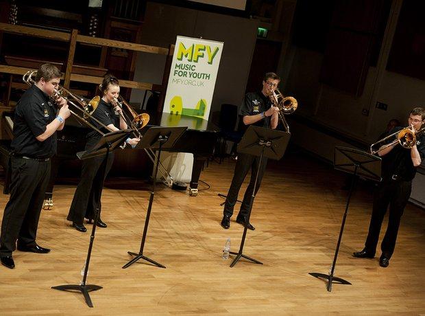 Black Dyke Youth Trombone Quartet