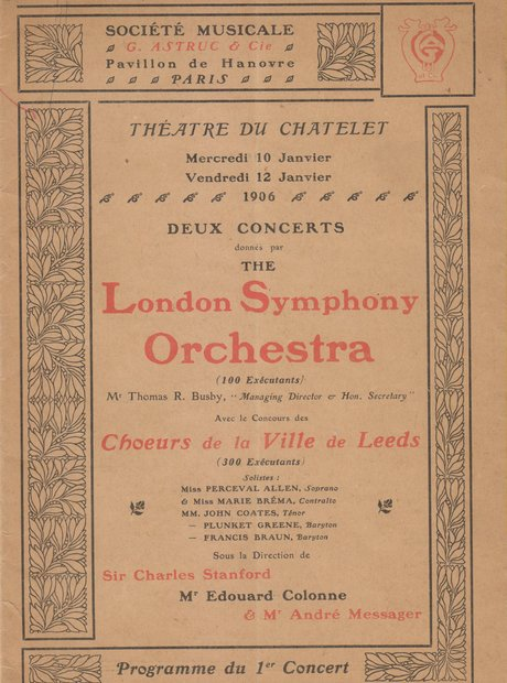 LSO archive programmes