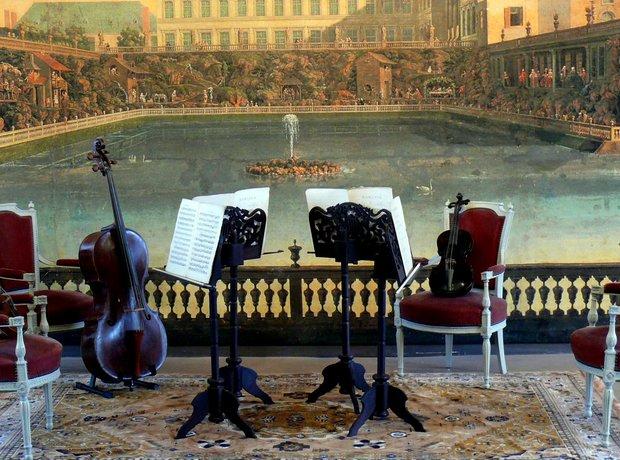string quartet seating
