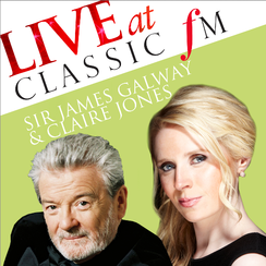 Sir James Galway and Claire Jones