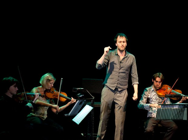 Jon Boden and the Sacconi Quartet at the Bristol P