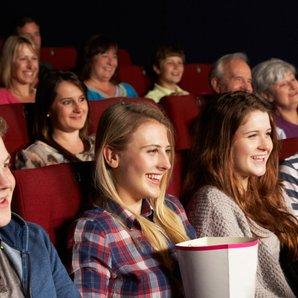 Teens At The Cinema