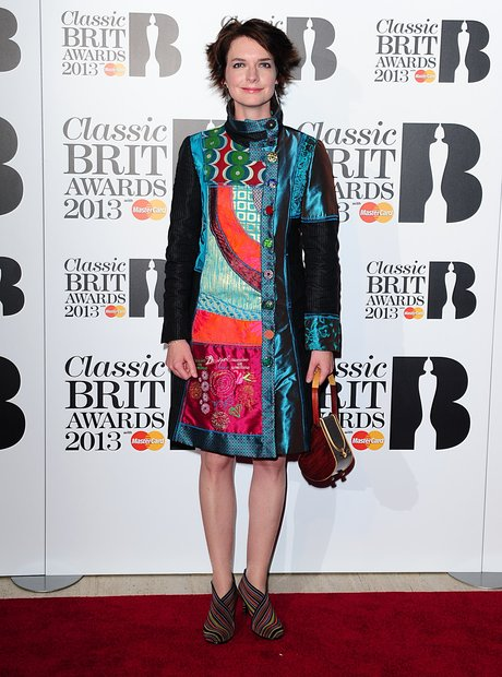 Catrin Finch at the Classic Brit Awards 2013