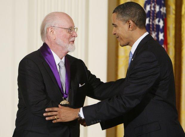 John Williams Barack Obama National Medal of Arts