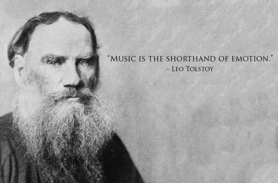tolstoy classical music quotes