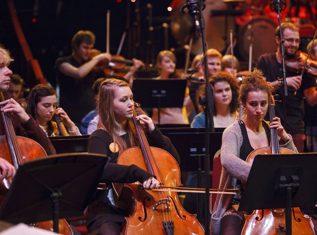RNCM Session Orchestra and Greater Gwent Youth Jaz