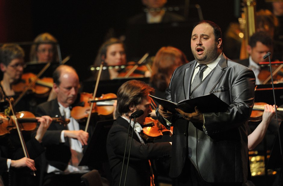 Wynne Evans at Classic FM Live Cardiff 2014
