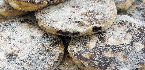 Welsh cakes Drop Scones Mynydd Cymreig