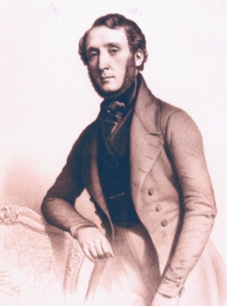 Irish composer George Alexander Osborne Berlioz Chopin