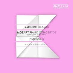 Karin Kei Nagano Mozart concertos Cecilia Quartet