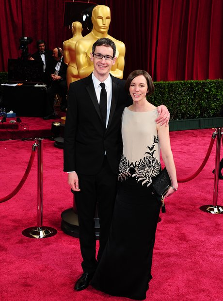Steven Price and Gemma at the Oscars 2014