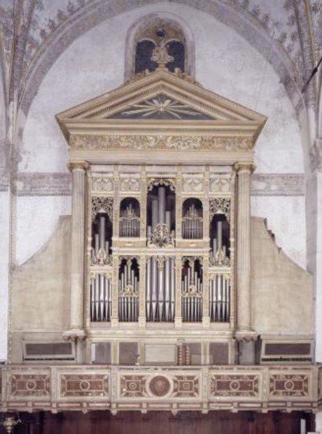 Duomo Vecchio Brescia Italy organ Antegnati