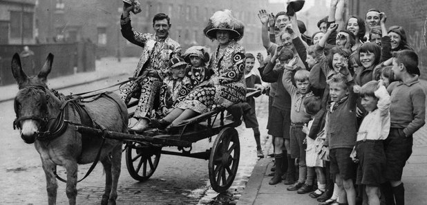 London Pearly King Queen Finsbury