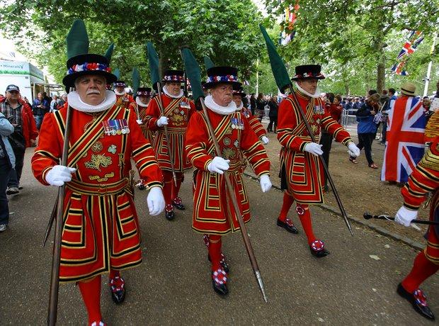 London Beefeaters Diamond Jubilee